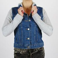 Levi's Denim Hoodie Trucker Hybrid blue jacket Size S