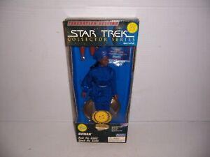"1995 Playmates Star Trek The Next Generation Federation Edition Guinan 9"" Figure"