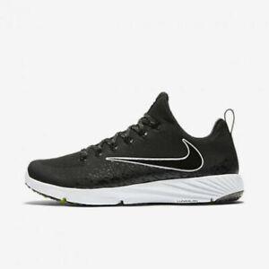 Nike, Vapor Speed Turf (833408 010) Football Trainers Black, Size 8