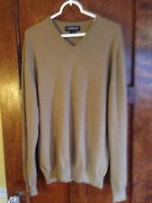 Joseph & Lyman L Men's High Quality 100% Cashmere Wool V-neck Sweater