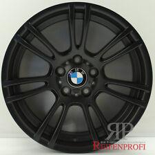 Original BMW 18 Zoll M3 3er Felgen Satz 2283905 Styling M270 Schwarz matt
