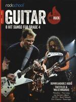 Rockschool Guitar Hot Rock Grade 4 TAB Music Book & Audio Exams Tests Metallica