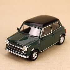 1990 Mini Cooper 1300 DieCast Model Car 10.5cm Detailed Interior Pull-Back Green