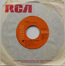 ARTHUR (LES JAGUARS, SINNERS, REVOLUTION FRANCAISE) NM- CANADA 1971 FRENCH 45