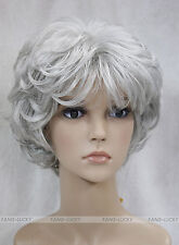 (7 colors) Short Curly Women Female Lady Hair Full Wig / Perruque #L-427B