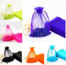 25Pcs Multi-Color Organza Wedding Party Favor Bags Candy Pouch Gift Wrapping