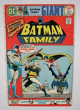 Batman Family #1 Origin Batgirl & Robin Team Up,Neal Adams VF+ 8.5 DC COMIC 1975