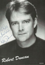 Robert Duncan Signed 4x6 Photo