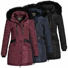 Geographical Norway Damen Winterjacke Jacke Steppjacke Parka Winterparka Brunch