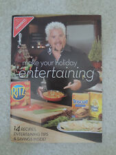 Guy Fieri Kraft Foods Nabisco Holiday Entertainment Guide Fieri Family Souvenir