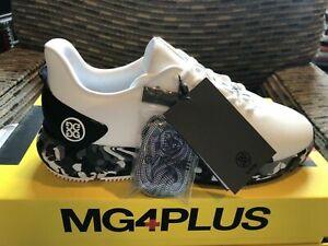 G/FORE MEN'S MG4+ snow camo golf shoes, nib,ds,#g4ms21ef30