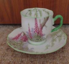 Royal Albert 1927-1935 - Digitale-tasses de café/Demi Cup & Saucer-EX