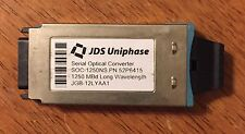 JDS Uniphase SOC-1250NS P/N 52P6415 1250 MBd Long Wavelength JGB-12LYAA1