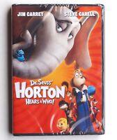 Dr Seuss Horton Hears A Who! 2008 family G movie new DVD Jim Carrey Steve Carell