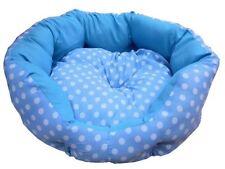 Couchage, paniers et corbeilles bleus pour chien