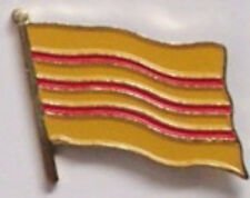 Vietnam (old) Country Flag Enamel Pin Badge