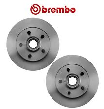 NEW Pair Set of 2 Front Disc Brake Rotors Brembo for Ford Ranger Mazda B-Series
