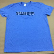 Samsung Galaxy Tech Mobile Promo Short Sleeve Blue XL T-Shirt