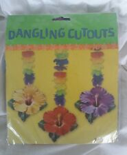 3 Assorted FLOWER GARLAND  HAWAIIAN PARTY DANGLERS