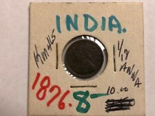 1876 - India - 1/12 Anna