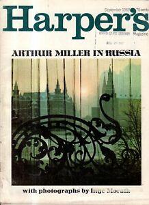 1969 Harper's September - Arthur Miller in Russia; San Francisco State; Dolly