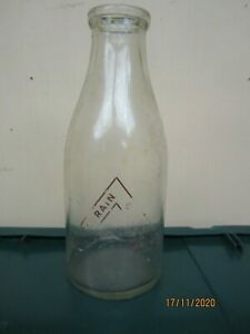 Vintage Kilgrain  Dairy Portrush 2Pint milk Bottle N. Ireland