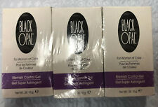 Lot of 3 Black Opal Blemish Control Gel 10g Astringent For Women Of Color Sealed