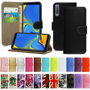 For Samsung Galaxy A3 A5 A6 A7 A8 2017 2018 Case Wallet Phone Shockproof Leather