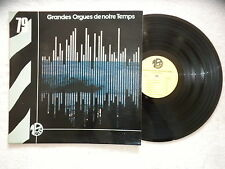 """LP VARIOUS """"Grandes orgues de notre temps"""" MONTPARNASSE 2000 MP79 FRANCE §"""