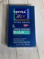 NIVEA Men After Shave Fresh Cooling Balm Menthol Cools W/O Irritation 3.3 OZ