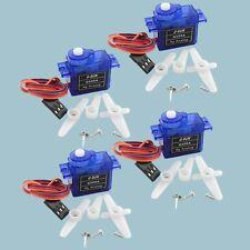 4pcsRC 9g Servo mini micro for trex align 450 Rc 6ch helicopter Airplane car U