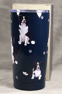 Boarder Collie Ultimate Travel Tumbler New In Box