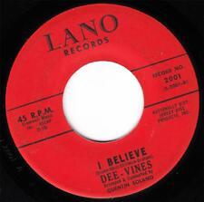 THE DEE VINES - I BELIEVE (LANO 2001) CLASSIC!!!