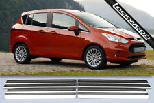 Ford B Max Stainless Steel Sill Protectors / Kick Plates