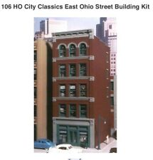 City Classics 106 East Ohio Street Building - HO Scale Kit     MODELRRSUPPLY-com