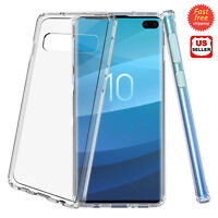 For Samsung Galaxy S10/S10 Lite/S10 Plus Hybrid Clear Slim Hard Armor Case Cover