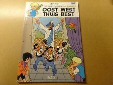 STRIP / JOMMEKE 260: OOST WEST THUIS BEST | 1ste druk