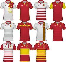 FIFA WORLD CUP 2022 Spain Football Soccer Polo T-Shirt RAMOS ISCO ASENSIO SILVA
