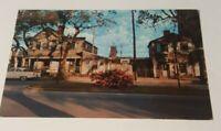 1950s postcard The Pirates House SAVANNAH Georgia street view Herb House GA