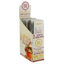 High Hemp Organic Wrap Full Box 25 Pouches, 2 Wraps per Pouch, 50 Wraps Honey