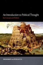 Sutch, Peter : An Introduction to Political Thought:Key Concepts and Thinkers