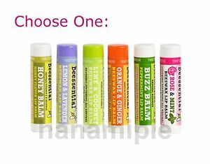 Beessential Beeswax Lip Balm Tube - Choose Your Flavor - NEW