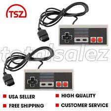 2 For Original Nintendo NES Classic 8 Bit Game Pad Controller Video System