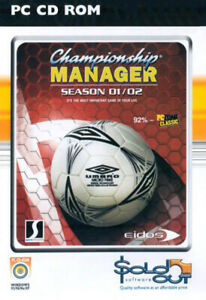 Championship Manager: Season 01/02 (PC GAME) NEW & SEALED