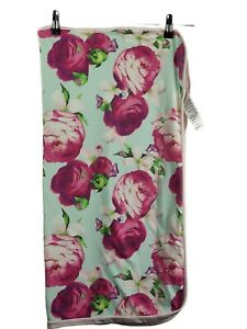 Ted Baker baby girls blanket rose print  fair to  good Condition