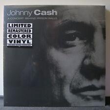 JOHNNY CASH 'A Concert Behind Prison Walls' Vinyl LP NEW & SEALED
