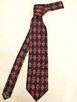 CRAVATTA GIANNI VERSACE ART. V19 UOMO 100% PURA seta SILK made in Italy