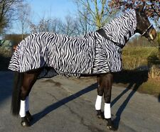 Hafer24 Ekzemerdecke Comfort Zebra  unsere Meistverkaufte- Fliegendecke Gr 135cm