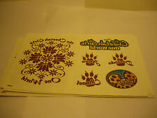 The Cheetah Girls One World 20 Temporary Tattoo Sheets Disney Channel Tattoos