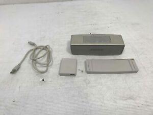 BOSE Soundlink Mini Bluetooth Speaker w/ Charging Cord, Adapter & Dock